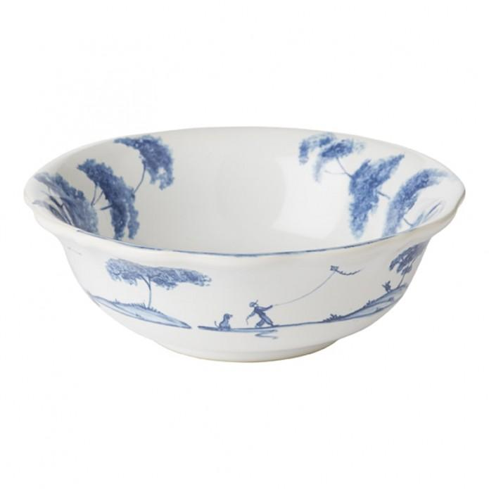 Country Estate Delft Blue Berry Bowl Country Respites