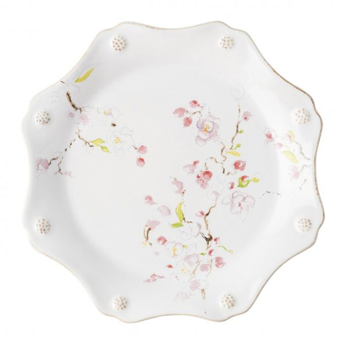 Berry & Thread Floral Sketch Cherry Blossom Dessert/Salad Plate