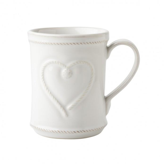 Berry & Thread Whitewash Cupfull of Love Mug