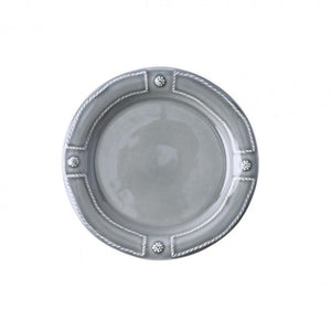 Berry & Thread French Panel Stone Grey Side/Cocktail Plate