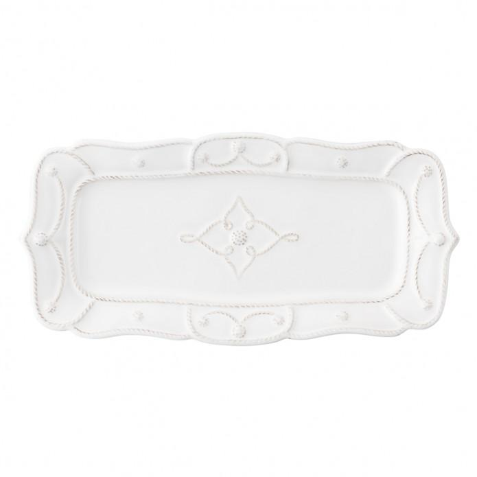 Jardins du Monde Whitewash Hostess Tray