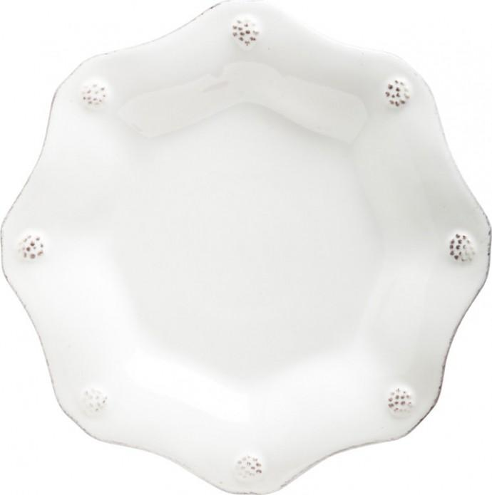 Berry & Thread Whitewash Scalloped Tea Plate