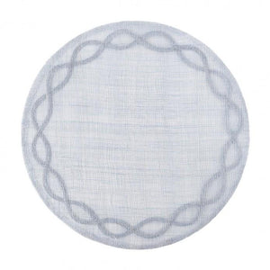 Tuileries Garden Chambray Round Placemat