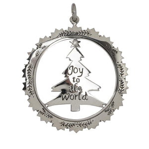 Joy to the World Christmas Decoration/ pendant RETIRED