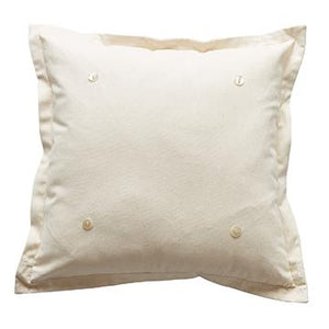 Pillow With Four Buttons