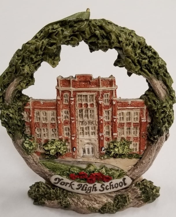 York High School ornament