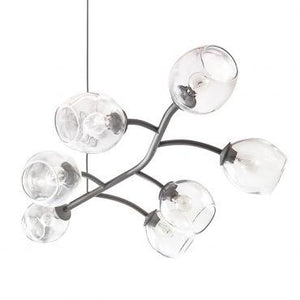 Vine Chandelier, Natural Iron