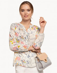 Spartina Cora Silk Blouse
