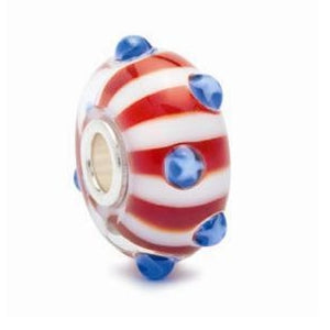 World Tour USA Star Spangled Bead