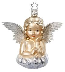 Inge-Glas Angel Ornament