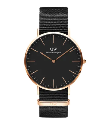 Daniel Wellington watch Classic Black Cornwall 40mm