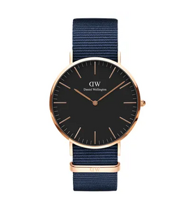 Daniel Wellington watch Classic Black Bayswater 40mm
