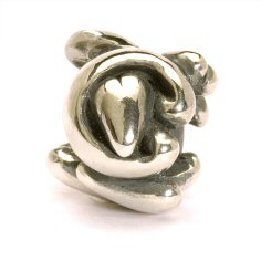 Letter Bead C, Silver