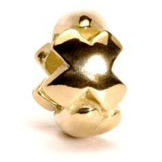 Letter Bead X, Gold