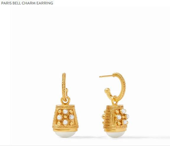 Julie Vos Paris Bell Earrings