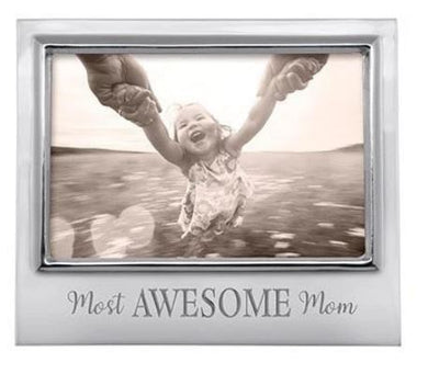 Mariposa Most Awesome Mom 4x6 Frame