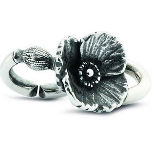 Poppy Decadence double silver x link