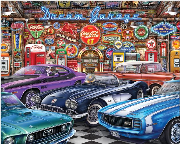 Puzzle 1000 pc Dream Garage