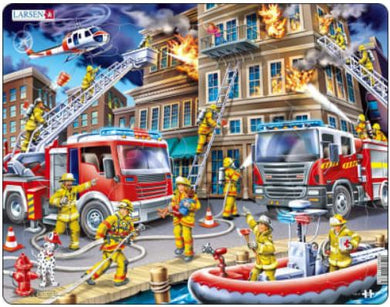 Puzzle 45 pc Firefighters