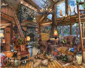 Puzzle 1000 pc Hunting Lodge