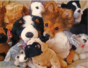 Puzzle 400 pc Puppies