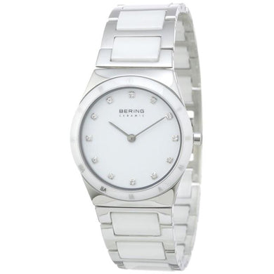 Bering Time Ceramic Polished Silver Watch | 32230-764