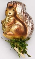 Squirrel Snacks ornament by Inge-Glas Germany