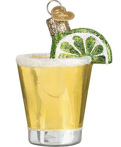 Tequila Shot Christmas Ornament