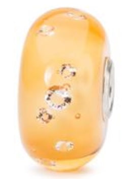 The Diamond Bead Amber Trollbeads