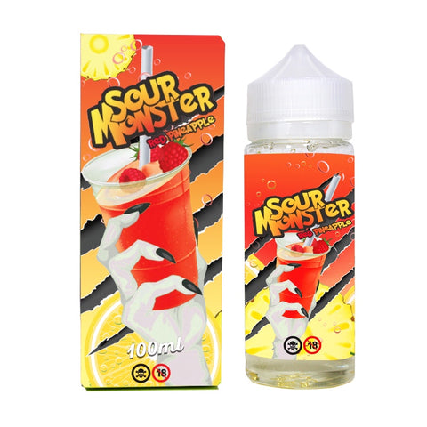 Sour Monster - Red Pineapple