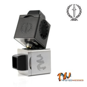 Twisted Messes - TM3 Cubed RDA Stainless Steel