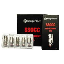 KangerTech SubTank Replacement Stainless Steel Organic Cotton Coil