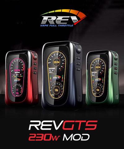 Rev-Tech GTS 230W TC Box Mod