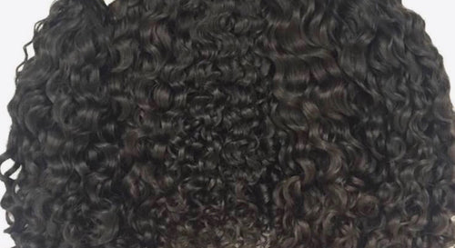 Premium Double Bundle Indian Temple Curly