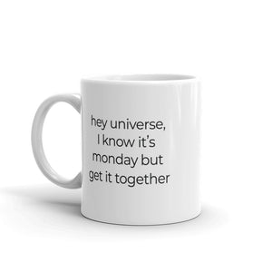 Universe Get it Together Mug