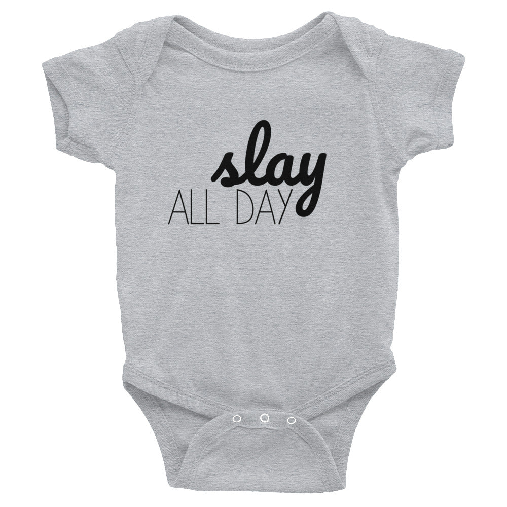 Slay All Day Baby Onesie