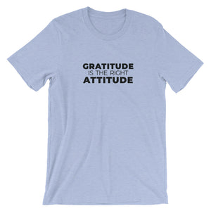 Gratitude is the Right Attitude T-Shirt