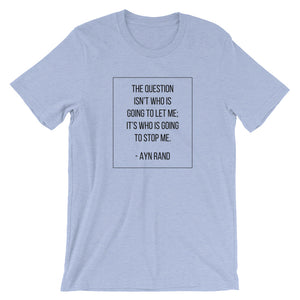 Unstoppable Ayn Rand T-Shirt