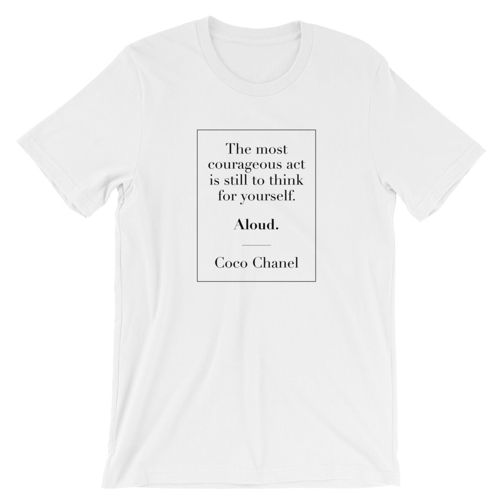 Think Aloud Chanel T-Shirt