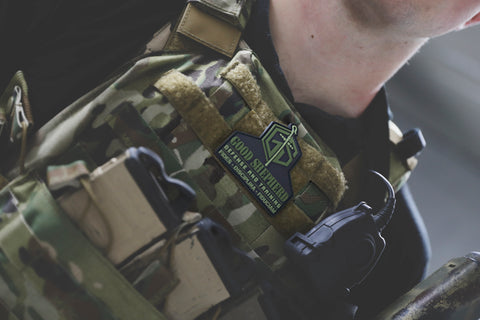 Good Shepherd PVC Morale Patch