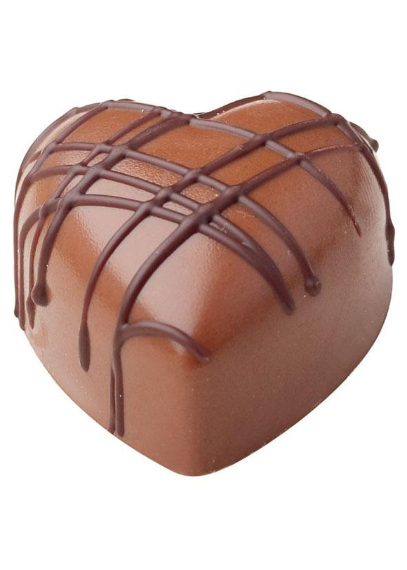 Belgian Milk Chocolate Passion Fruit Heart Ganache from Deliciously Gorgeous Eastbourne
