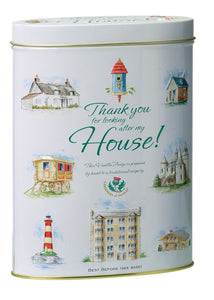 Vanilla Fudge Gift Tin - Thank you for looking after my House from Deliciously Gorgeous Eastbourne