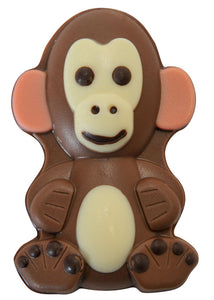 Micky the Monkey - Decorated Solid Luxury Milk Chocolate Novelty Figure