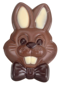 Chuckle Bunny - Decorated Solid Luxury Milk Chocolate Novelty Figure