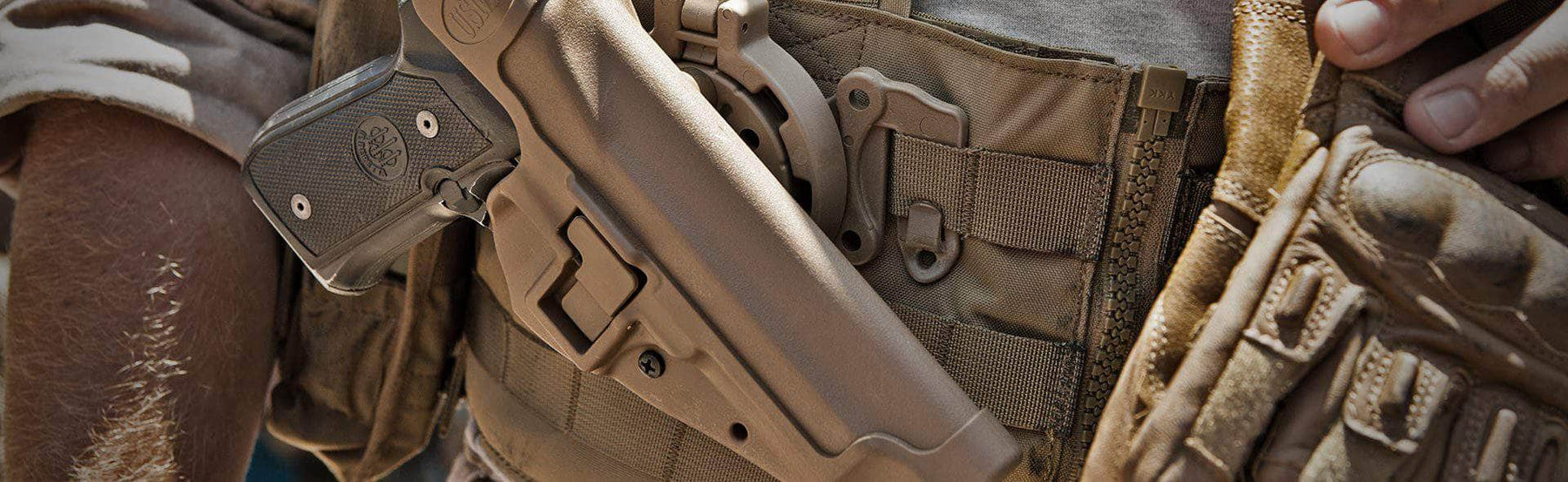 Blackhawk : l'apparition du holster Serpa