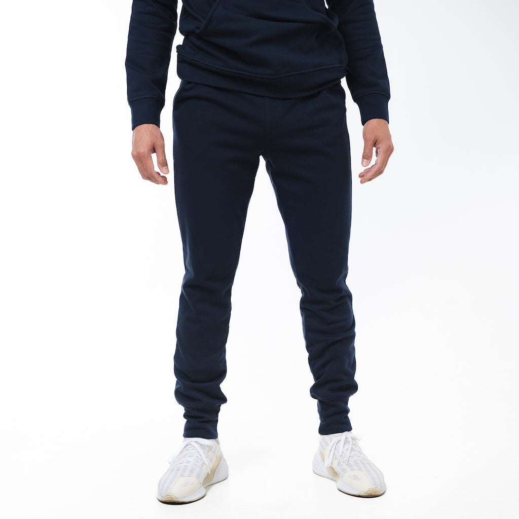 Dorsu | Ethical Cotton Basics | Men's Joggers | Navy