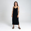 Dorsu | Ethical Cotton Basics | Singlet Dress | Black