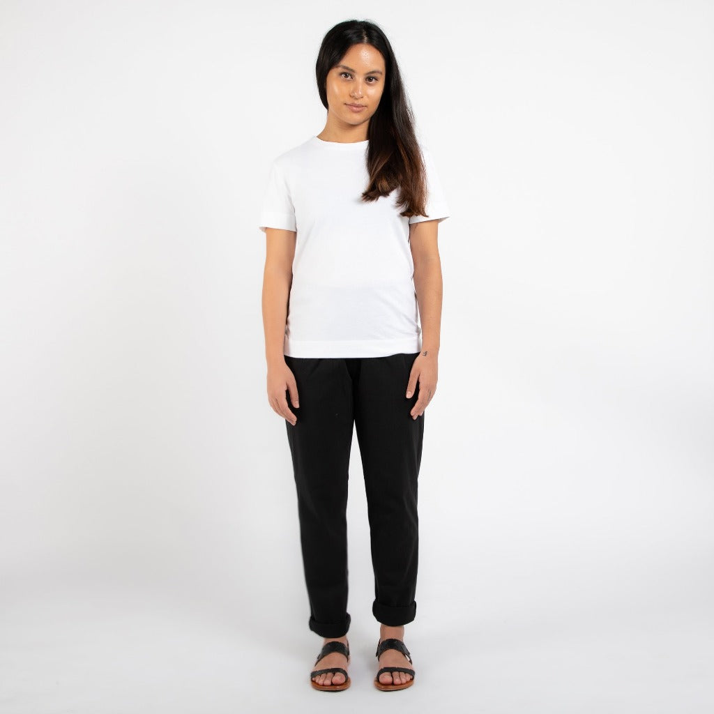 Dorsu | Ethical Cotton Basics | Classic T-shirt | White
