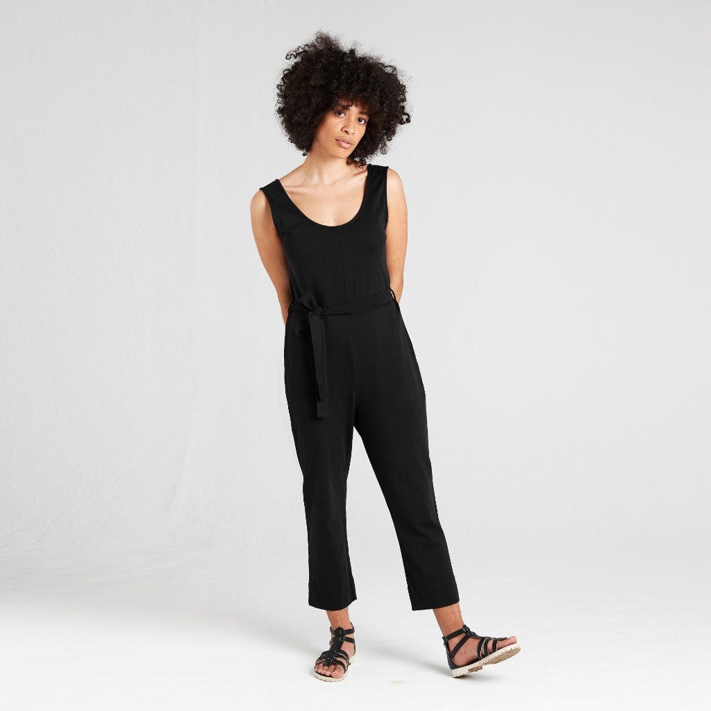 Dorsu | Ethical Cotton Basics | Jumpsuit  | Black