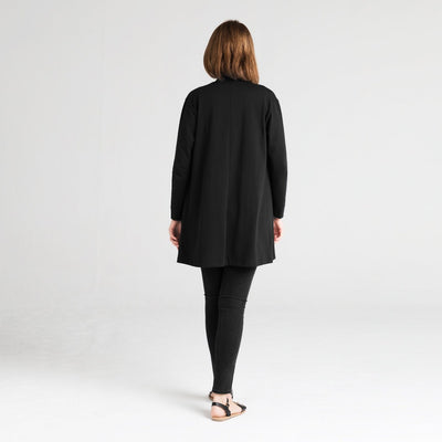 Dorsu | Ethical Cotton Basics | Cardigan | Black